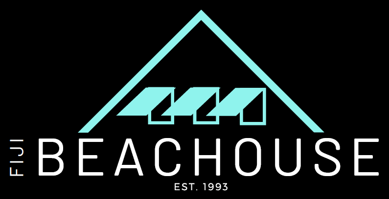 Fiji Beachouse new logo on black background